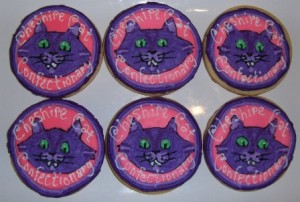 Cookies from Cheshire Cat Confectionary