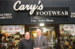 Cary's Footwear; Fine Men's Shoes