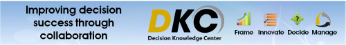 Decision Knowledge Center software, group decision making software