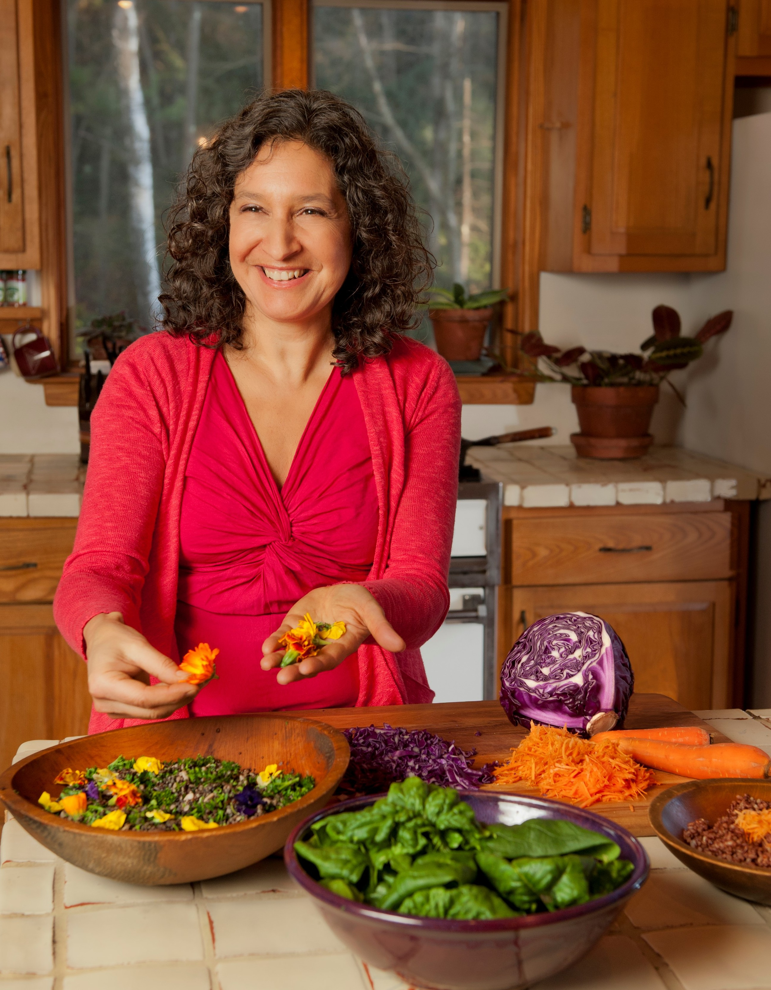 Leslie Cerier, the Organic Gourmet Chef