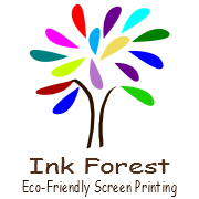 Ink Forest Eco Friendly Screen Printing logo