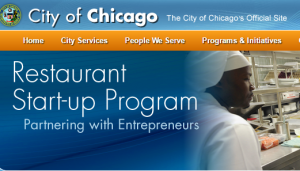 City of Chicago Restaurant Startup Program