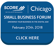 SCORE Chicago Small Business Forum - Save the date