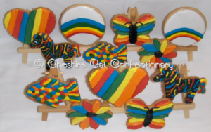 Cheshire Cat Confectionary - Ravage the Rainbow Box of Cookies