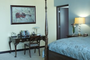 DecArte design for a bedroom with art