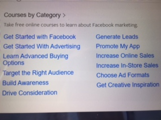 Free Facebook Training from Facebook