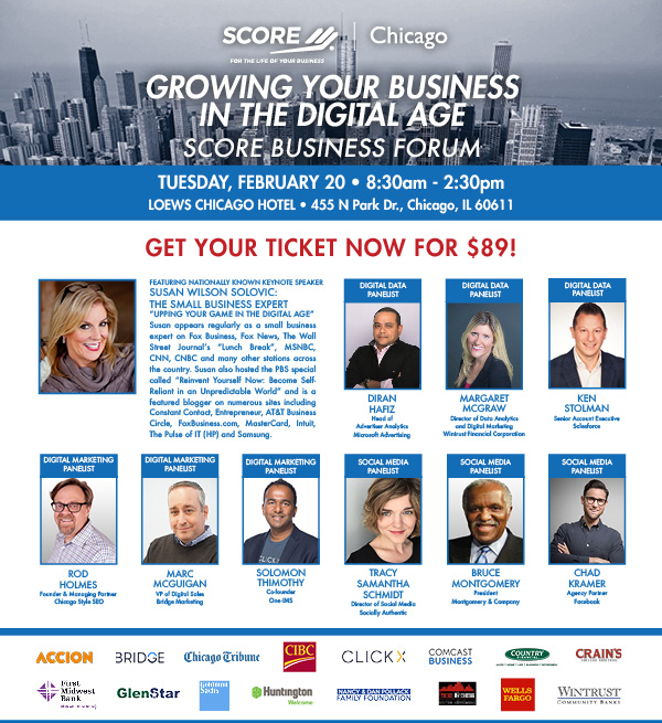 Chicago SCORE 2018 Business Forum