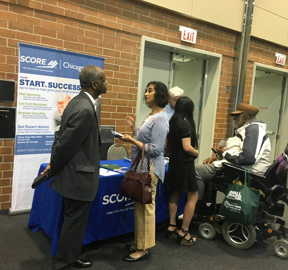 Score Chicago to Exhibit During Chicago Small Business Expo
